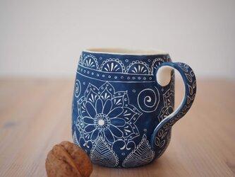 青いマグカップ(中2)の画像