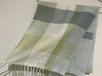 手織りストール SU20の画像