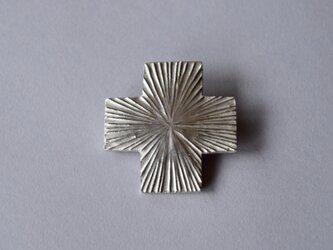 ブローチ(銀彩) 光-1の画像