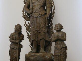 仏像1-07 不動三尊 の画像