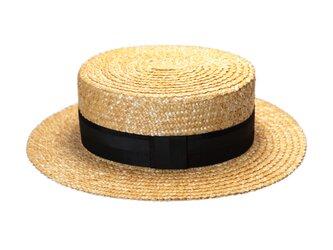 菱麦カンカン帽(20SSN-009R)の画像