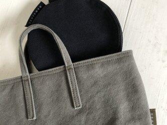 miniバッグ/横タイプ/カーキグレーの画像