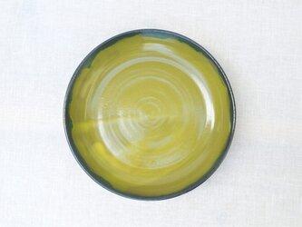[受注制作]カレー&パスタ皿 マスタード 23cm大鉢の画像