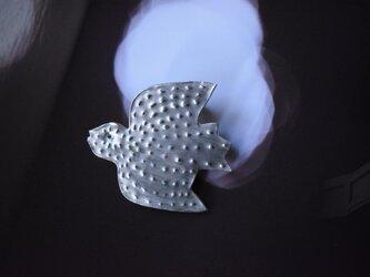 ブローチ(銀彩) トリ-1の画像