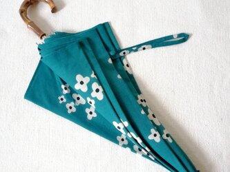 型染め 日傘「春の野花」の画像
