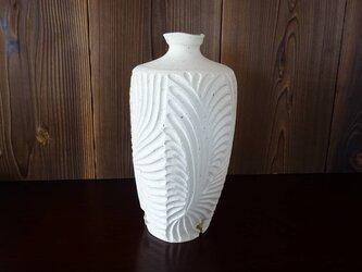 珊瑚砂肩衝三脚しのぎ花器4の画像
