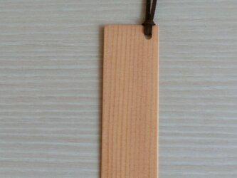 木のしおり(スプルース)の画像