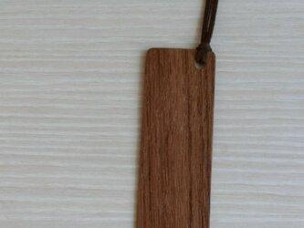 木のしおり(チーク)の画像
