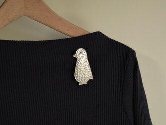 ブローチ(銀彩) ペンギン-1の画像