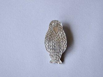 ブローチ(銀彩) ペンギン-2の画像