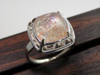 サンストーン リング * Sunstone Ring □の画像