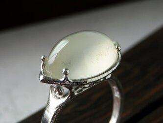 ムーンストーン リング * MoonStone Cat Ring ◇の画像