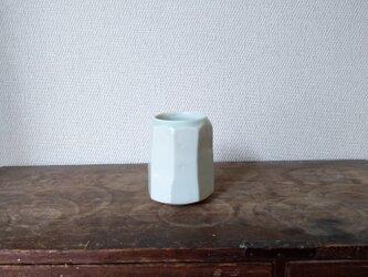 磁器 面取り フリーカップの画像