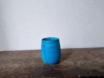 トルコ青 フリーカップの画像