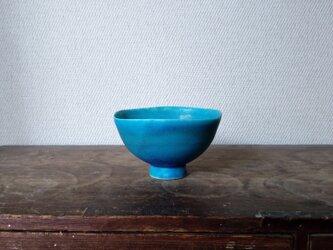 トルコ青 小鉢の画像