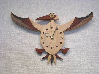 木の時計:カツオドリⅲの画像