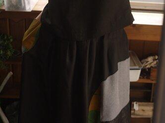 正絹着物からセットアップの画像