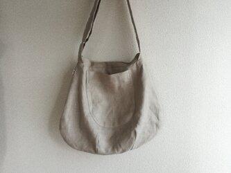 リネン・LINEN ・ ななめ掛けバッグの画像