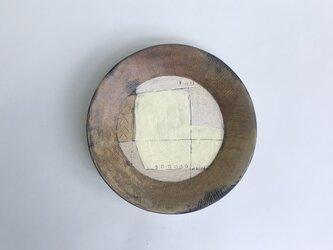 化粧掻き落とし文様 皿123の画像