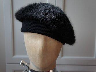 ふわもこ!あったかベレー帽。の画像