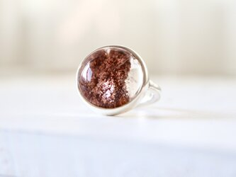 earth garden クォーツ ringの画像