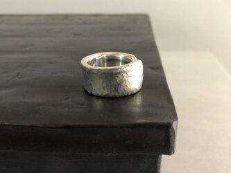 アシンメトリーring  silverの画像