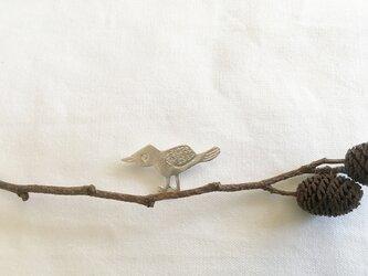 トリブローチ シルバーの画像