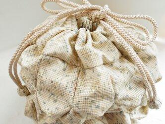 金平糖袋(紬のマンボウ)の画像