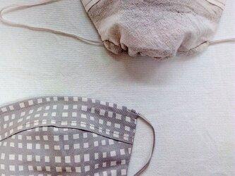綿ピンタックフィットマスク の画像