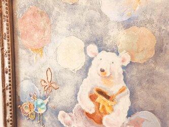 原画・キミとハチミツ〜frost(額装)の画像