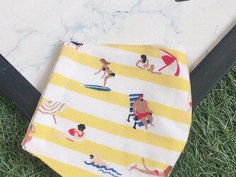 夏向け 立体マスク  キッズ オトナ バカンス 夏休み 海 プールの画像
