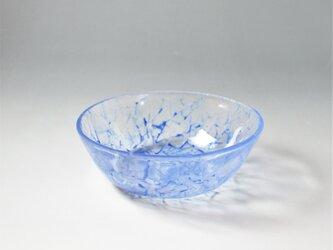 レース模様の涼やかな小鉢 ブルー1点ものの画像