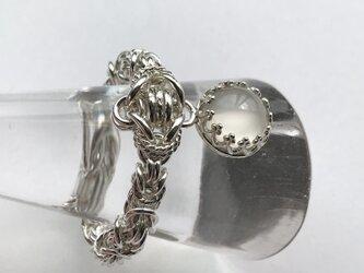 『 Flower of romance ( moonlight ) 』Ring by SV925の画像
