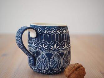 青いマグカップ(中3)の画像