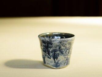 流れる模様のカップ iFw-018の画像