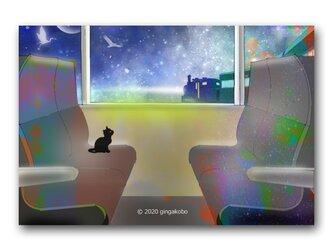 「銀河が教えてくれた心の器量、持って生まれた綻び」 ほっこり癒しのイラストポストカード2枚組 No.1140の画像