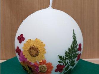 最終値下げ:押し花ソイキャンドルの画像