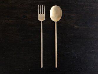 【受注生産】真鍮のスッカラL・ポクL セットの画像