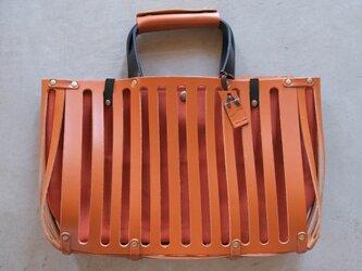 【受注製作】RIGHE〈 Brown × Orange 〉の画像