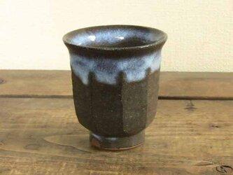 面取り湯呑み(藁灰)/オーダー受付可の画像