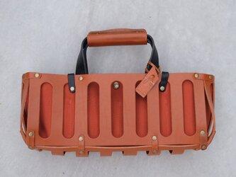 【受注製作】BARCHETTA〈 Brown × Orange 〉の画像