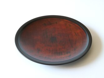溜塗中皿の画像