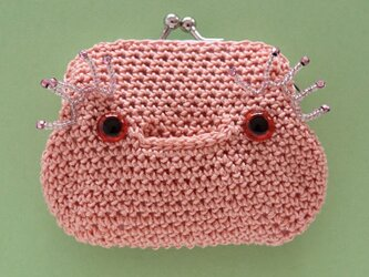 ウーパールーパーのがま口の画像