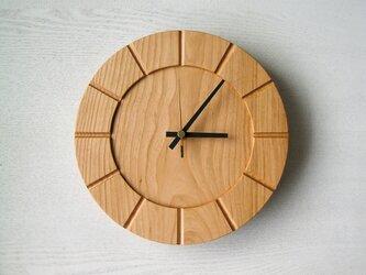 木の時計01(Φ240) No24 | 山桜の画像