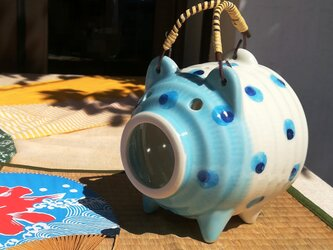 カルピスソーダ蚊取り豚 蚊遣りの画像