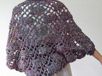 かぎ針編みのボレロ 冬 2013 タイプBの画像