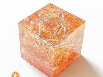 [受注製作]キューブオルゴナイト DOUBLE energy cube101300001の画像