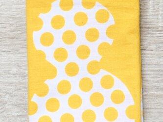 注染てぬぐい・ひょうたん(黄色)× komefuku(コメフク)コラボの画像