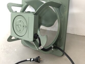 数量限定 IDK 換気扇 インダストリアル 有圧換気扇 工業系 100V対応可能の画像