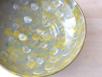 絵付け大鉢 * 花畑の色彩の画像